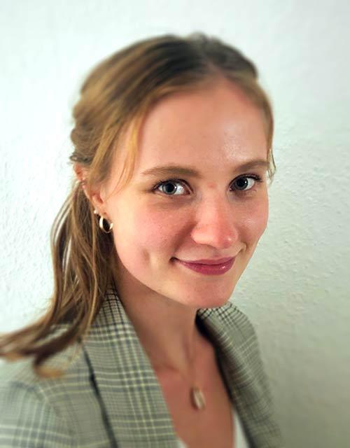 Praktikantin Wiebke Haverich