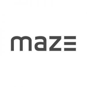 Das Logo des Unternehmens maze